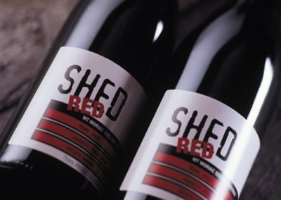 SHED RED